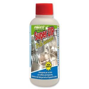 Limpiador desoxidante para acero inoxidable
