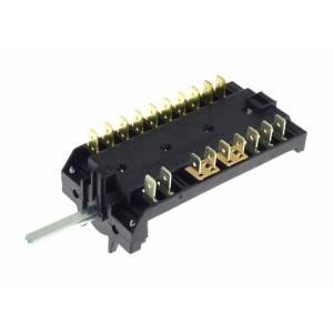 Selector de funciones para hornos Smeg
