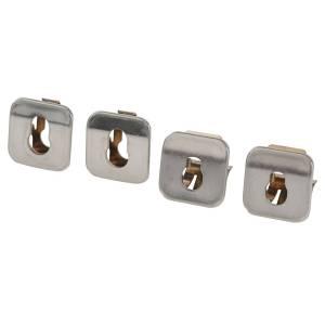 Set de 4 casquillos universales para hornos con o sin pirolisis