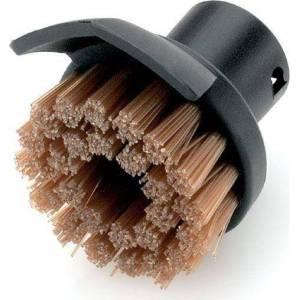 Cepillo redondo con espatula para limpiadoras de vapor