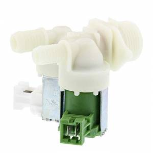 Válvula doble para lavadoras AEG. Electrolux y Zanussi