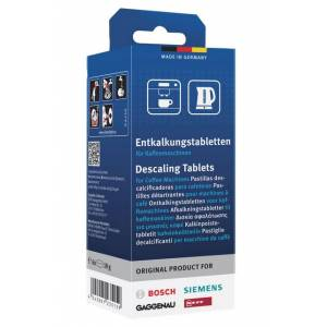 Tassimo coffee maching descaling tablets
