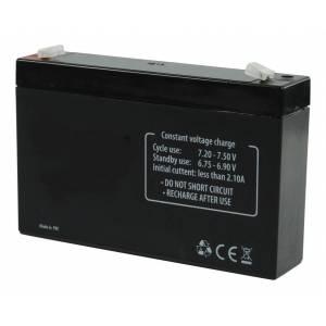 Batería recargable 6 V 7.2 Ah