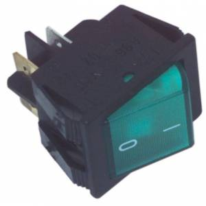 Interruptor universal color verde