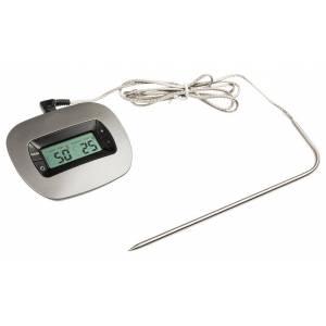 Termometro digital con alarma para horno