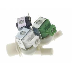 Electroválvula triple para lavadoras AEG Electrolux Zanussi
