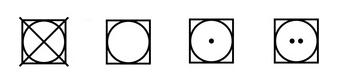Simbolos secado
